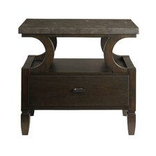 Voyage Nightstand with Blue Stone Top