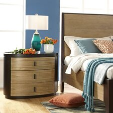 Voyage 3 Drawer Nightstand