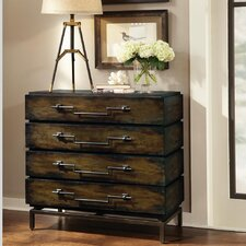 <strong>HGTV Home</strong> 4 Drawer Barn Hall Chest