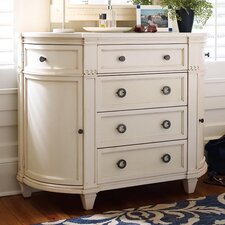 Water's Edge 4 Drawer Media Chest