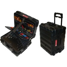 "<strong>Chicago Case Company</strong> Military Style Wheeled Tool Case: 18"" H x 15"" W x 12"" D"