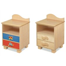 <strong>Room Magic</strong> Cowboy 2 Drawer Nightstand