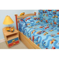 Boys Like Trucks 3 Piece Duvet Set