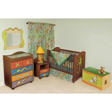 Little Lizards 2-in-1 Convertible Crib Set