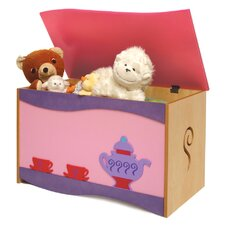 <strong>Room Magic</strong> Little Girl Teaset Toy Box