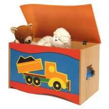 Boys Like Trucks Toy Box