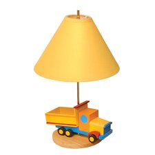 Boys Like Trucks Table Lamp