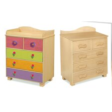 Magic Garden 5-Drawer Chest