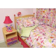 Magic Garden Twin Comforter / Bedskirt / Sham Set