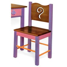 Little Girl Tea Set Desk Chair