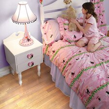 <strong>Room Magic</strong> Poodles 4 Piece Comforter Set