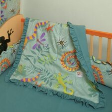 Little Lizards 4 Piece Crib Bedding Set