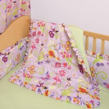 Magic Garden 4 Piece Crib Bedding Set