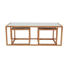 Grace 3 Piece Coffee Table Set