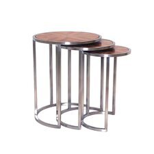<strong>Allan Copley Designs</strong> 3 Piece Nesting Tables