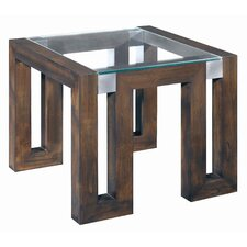 <strong>Allan Copley Designs</strong> Calligraphy End Table