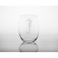 Seahorse White Wine Tumbler (Set of 4)