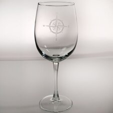 Compass Rose Dessert Wine Glass (Set of 4)