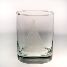 Sailboat DOF Glass (Set of 4)