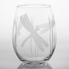 Dragonfly White Wine Tumbler (Set of 4)