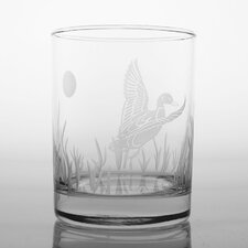 Duck Double Old Fashioned Glass (Set of 4)