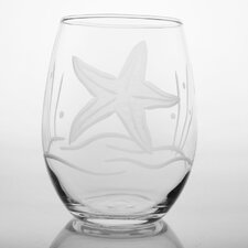 Starfish Stemless Wine Glass (Set of 4)