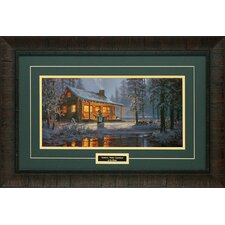 Another White Christmas Framed Painting Print