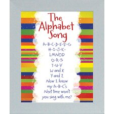 <strong>Artistic Reflections</strong> The Alphabet Song Print Art