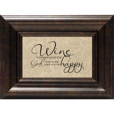 <strong>Artistic Reflections</strong> Wine Is Constant Proof? Print Art