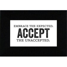 Embrace The Unexpected? Print Art