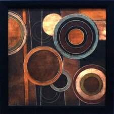 <strong>Artistic Reflections</strong> Abstract Circles II Framed Art