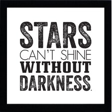 <strong>Artistic Reflections</strong> Stars Can't Shine Wall Art