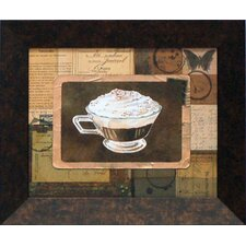 Vintage Eiskaffee Framed Art