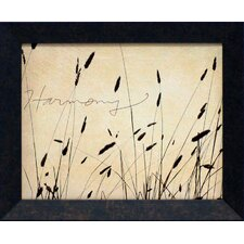 Grass Harmony Framed Graphic Art
