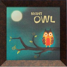 Night Owl Framed Art