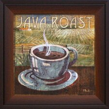 Java Roast Framed Graphic Art
