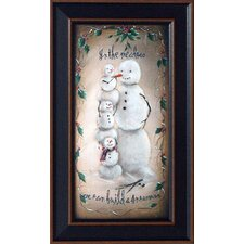 In the Meadow Framed Graphic Art