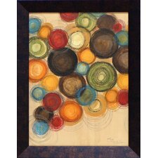 Colorful Whimsy II Framed Art