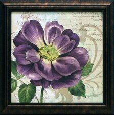 <strong>Artistic Reflections</strong> Study in Purple I Framed Art
