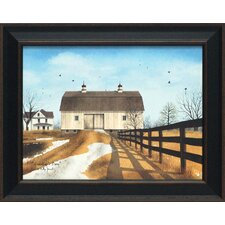 Grandpap's Barn Framed Painting Print