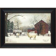 Winter Coat Framed Painting Print