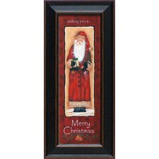 Merry Christmas Framed Graphic Art