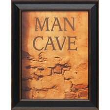 <strong>Artistic Reflections</strong> Man Cave Framed Art