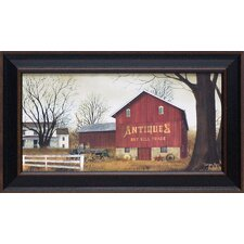 Antique Barn Framed Painting Print
