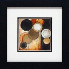 Tangents II Framed Painting Print