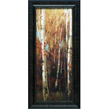 Birch Forest II Framed Painting Print