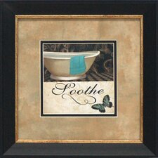 Soothe Framed Graphic Art