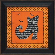 Witch's Boot Framed Graphic Art