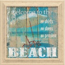 Beach Framed Graphic Art