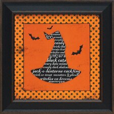 Witch's Hat Framed Graphic Art